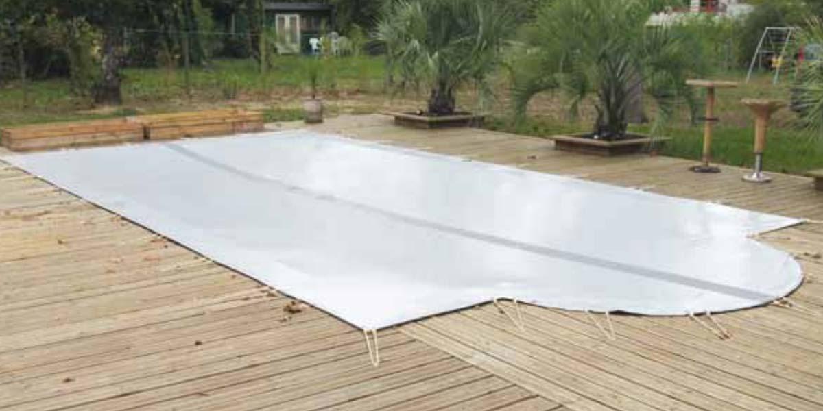 B che piscine et couverture piscine for Bache piscine hiver