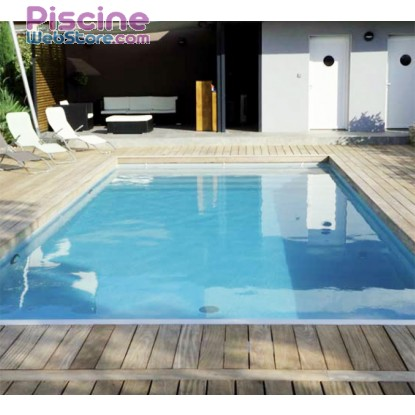 kit piscine complet 8 x 4 x h1 50m en blocs polystyr ne. Black Bedroom Furniture Sets. Home Design Ideas