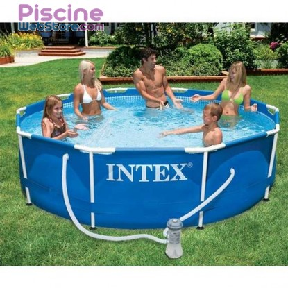 Piscine tubulaire Intex Metal Frame 305 x 76