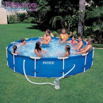 Piscine Intex 366 x 76 Metal Frame