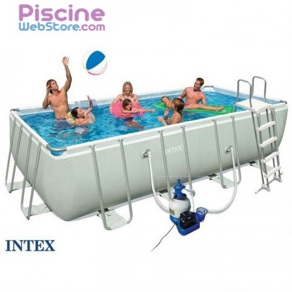 Piscine Intex Ultra Silver