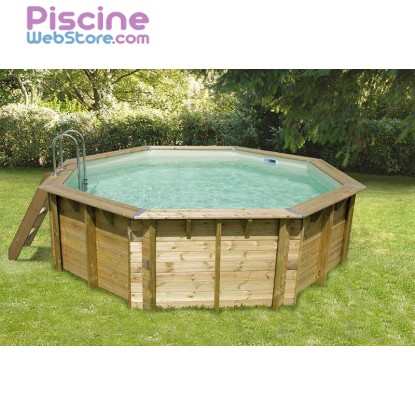 Piscine bois ubbink ocea 4 30 x h1 20m for Catalogue piscine bois