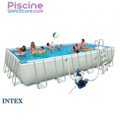 Piscine Intex Ultra Silver 732 x 366 x 132 cm