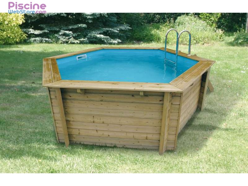 Piscine bois 10 for Piscine coque carree 3x3
