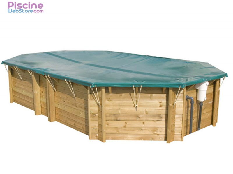 B che hiver de s curit opaque hors sol safe for Bache piscine securite