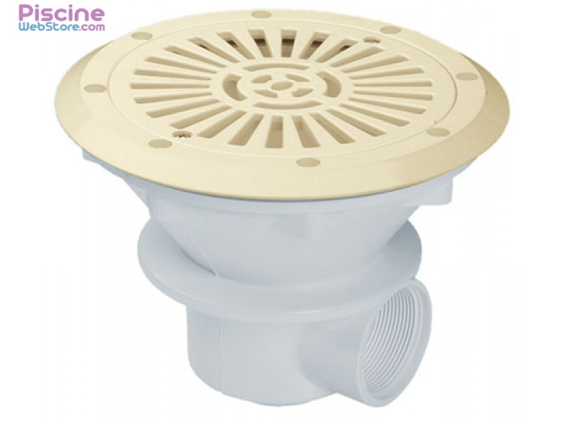 Bonde de fond liner de couleur astral for Piscine fond beige