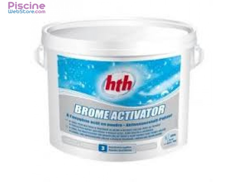 Hth brome activateur 5 kg for Piscine brome cancer