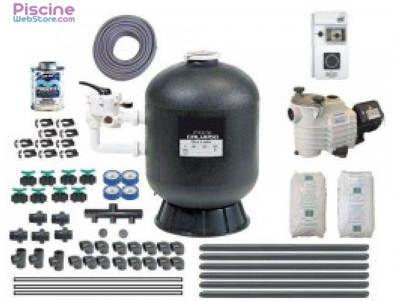 Kit filtration piscine quick pack quick pack plus for Kit complet pour piscine