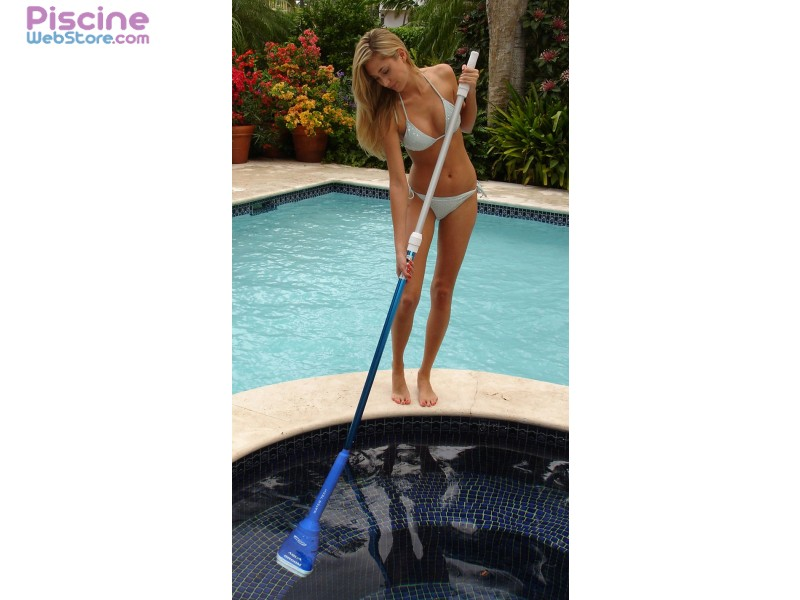 Aspirateur piscine pool blaster aqua broom for Aspirateur piscine pool blaster pro 1500