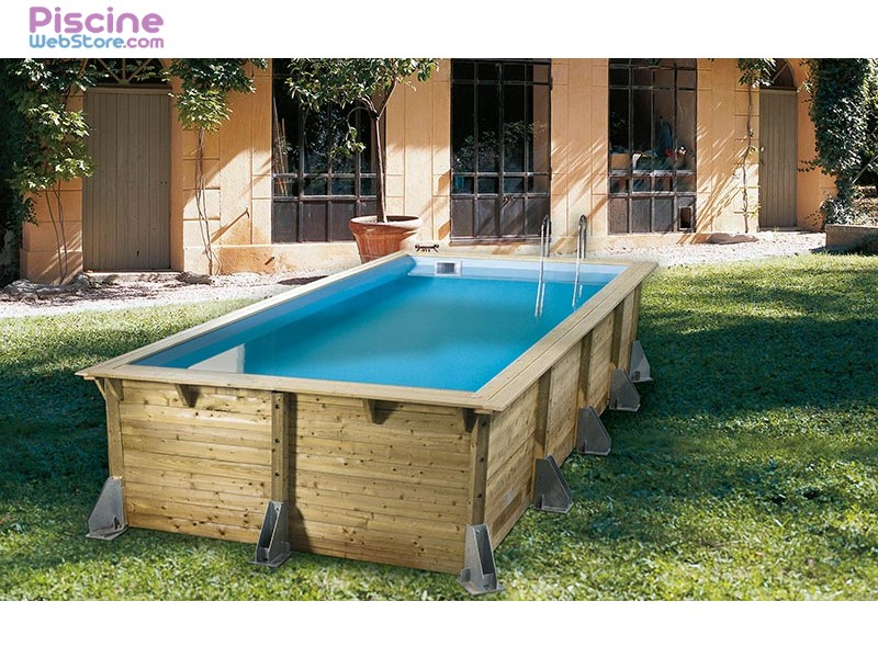 Piscine bois ubbink azura 5 05 x 3 50m for Catalogue piscine bois