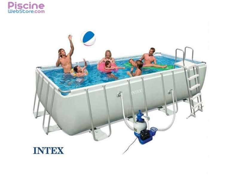 Piscine intex piscine hos sol tubulaire intex for Piscine intex 5 m