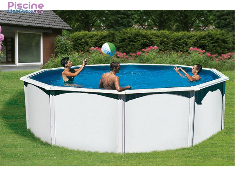 Good piscine hors sol ronde abak saphir with amenagement - Amenagement piscine hors sol acier ...