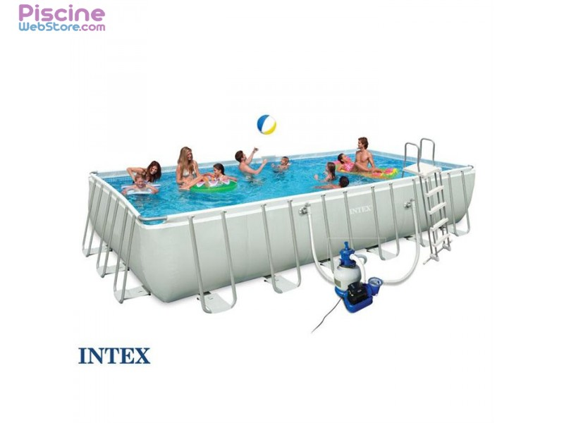 piscine tubulaire intex la piscine intex ultra silver. Black Bedroom Furniture Sets. Home Design Ideas