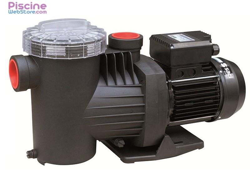 Pompe de filtration piscine saci winner de 0 50 cv 3 cv for Reglage filtration piscine