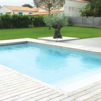 Liner piscine 75/100 uni