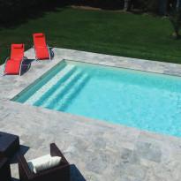 Liner piscine 75/100 verni 2 faces idéal en rénovation