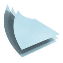 LINER PVC ARME 150/100 BLEU PALE STANDARD UNI - ROULEAU DE 41,25 M2
