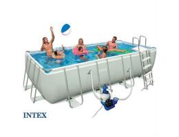 piscine hors sol tubulaire monter rapidement dans le jardin. Black Bedroom Furniture Sets. Home Design Ideas