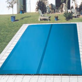 B che hiver de s curit filet megeve safe pour piscine for Bache securite piscine