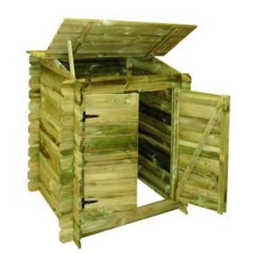 Coffre de filtration en bois Classic Ubbink