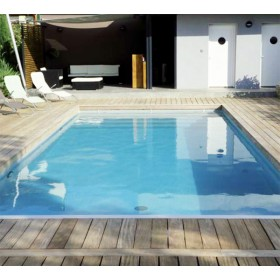 Kit piscine complet 8 x 4 x h1 50m en blocs polystyr ne for Piscine enterree en kit