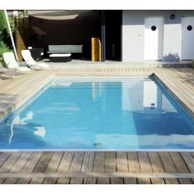 Kit piscine complet 8 x 4 x h1 50m en blocs polystyr ne for Kit piscine polystyrene