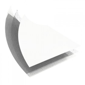 LINER PVC ARME 150/100 BLANC STANDARD UNI - ROULEAU DE 41,25 M2