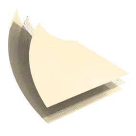 LINER PVC ARME 150/100 SABLE STANDARD UNI - ROULEAU DE 41,25 M2