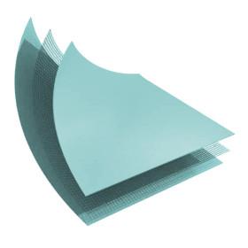 LINER PVC ARME 150/100 VERT CARAIBES STANDARD UNI - ROULEAU DE 41,25 M2