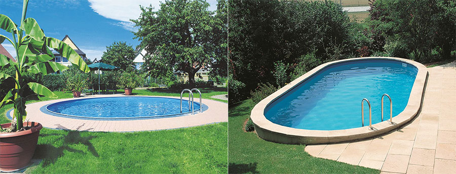 Piscine acier enterr e gr sumatra for Piscine acier enterree