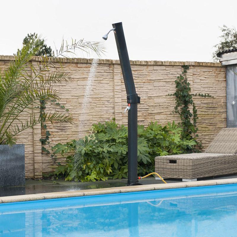 douche solaire ubbink solaris plus 23l. Black Bedroom Furniture Sets. Home Design Ideas