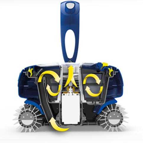 Robot piscine electrique zodiac cool robot piscine zodiac for Robot piscine racer